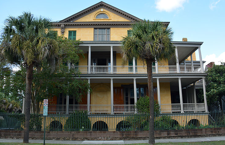 Aiken-Rhett House in Charleston, SC
