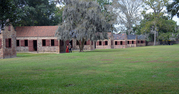 Slave cabins at Boone Hall Plantation, Mt. Pleasant, SC