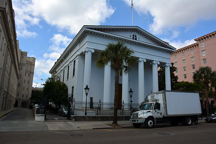 Hibernian Hall in downtown Charleston, SC