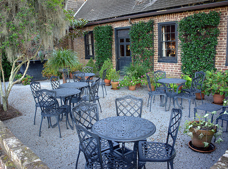 A cafe at Middleton Place Plantation in Charleston, SC