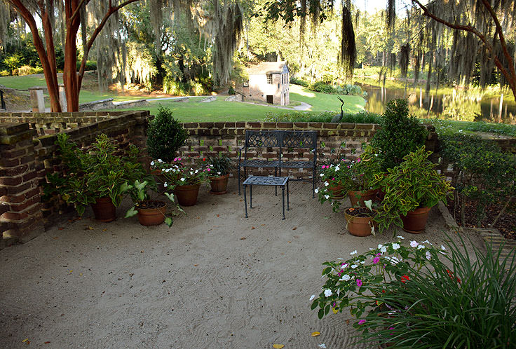 Some gardens at Middleton Place Plantation in Charleston, SC