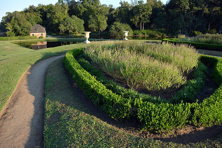 The grounds at Middleton Place Plantation in Charleston, SC