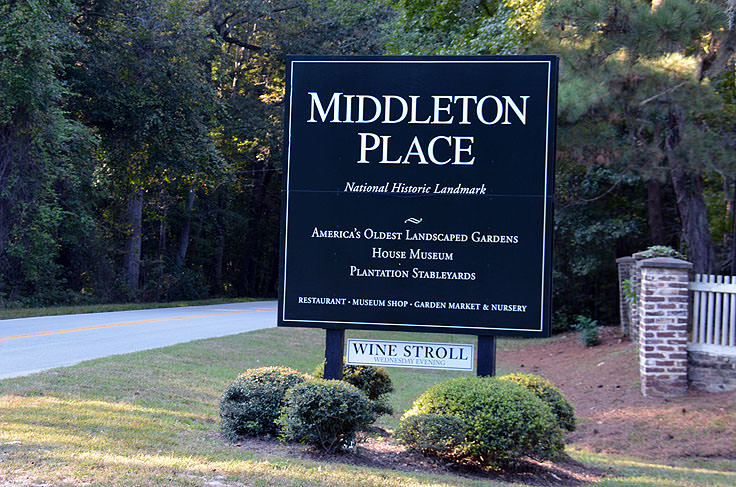 Middleton Place Plantation in Charleston, SC