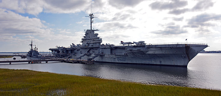 USS Yorktown at Patriot's Point in Mt. Pleasant, SC