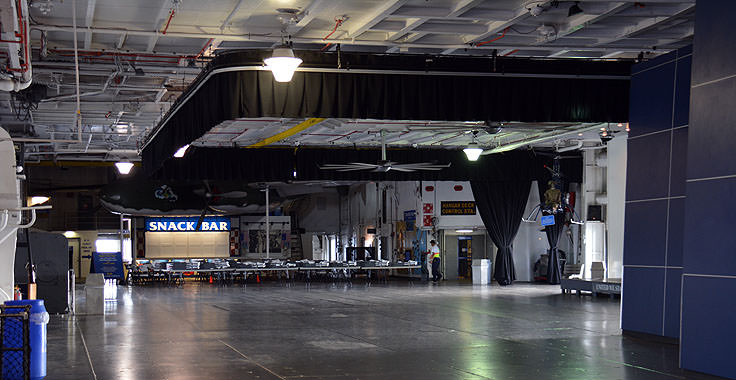 Tour inside the USS Yorktown at Patriot's Point in Mt. Pleasant, SC